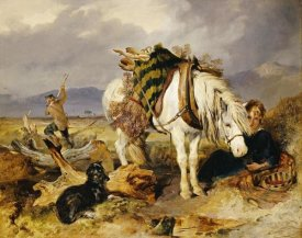 Sir Edwin Landseer - The Wood Cutter