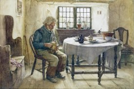 Walter Langley - A Poor Man's Meal