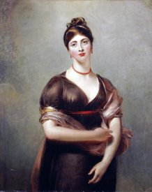 Sir Thomas Lawrence - Portrait of Elizabeth Jennings