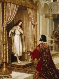 Edmund Blair Leighton - A King and a Beggar Maid