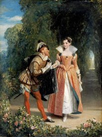 Charles Robert Leslie - The Proposal