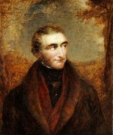 John Linell - Portrait of John Mallord William Turner