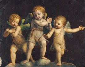 Bernandino Luini - Three Cherubs