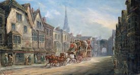 John Charles Maggs - The London To Exeter Royal Mail