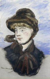 Edouard Manet - Young Girl in a Brown Hat