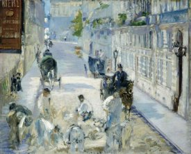 Edouard Manet - Rue Mosnier with Workmen