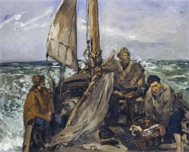 Edouard Manet - The Workers of the Sea