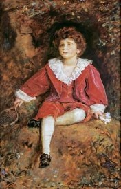 John Everett Millais - Portrait of The Hon John Neville Manners