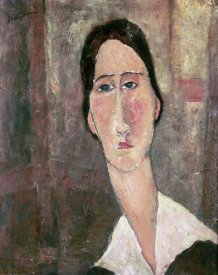 Amedeo Modigliani - Portrait of Jeanne Hebuterne