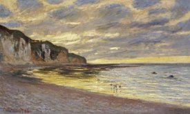 Claude Monet - Pointe de Lailly, marée basse