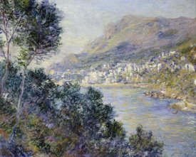 Claude Monet - A View of Cape Martin, Monte Carlo