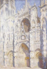 Claude Monet - Rouen Cathedral in the Afternoon (The Gate in Full Sun)