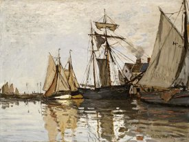 Claude Monet - The Port of Honfleur
