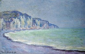 Claude Monet - Cliffs at Pourville