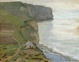 Claude Monet - Cap d'Antifer, Etretat