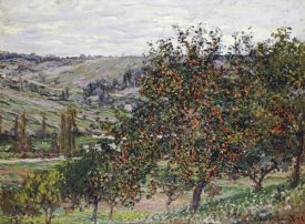 Claude Monet - Apple Trees Near Vétheuil, 1878