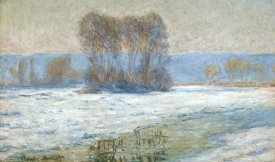 Claude Monet - The Seine at Bennecourt, Winter