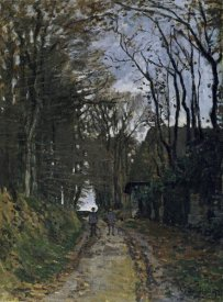 Claude Monet - A Normandy Path