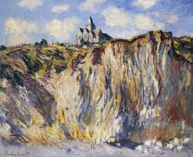 Claude Monet - Church of Varengeville, in the Morning