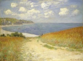 Claude Monet - Path through the Wheat Fields at Pourville, 1882