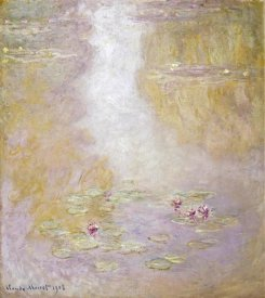 Claude Monet - Water Lilies, Giverny