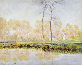 Claude Monet - The Banks of the River Epte at Giverny