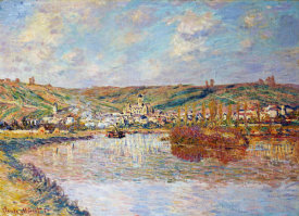 Claude Monet - End of the Afternoon, Vétheuil