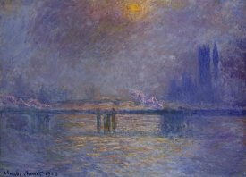 Claude Monet - Charing Cross Bridge, The Thames