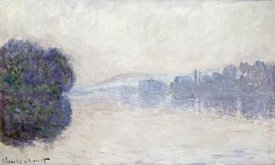 Claude Monet - The Seine Near Vernon, as Seen in the Morning