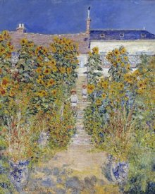 Claude Monet - The Artist's Garden at Vétheuil