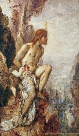Gustave Moreau - Promethee (The Torture of Prometheus)