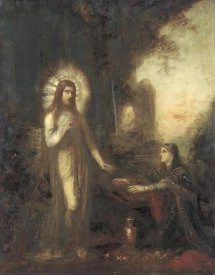 Gustave Moreau - Christ and Mary Magdalene