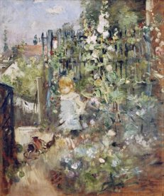 Berthe Morisot - A Child In the Rosebeds