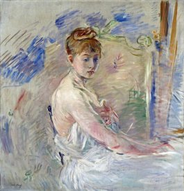 Berthe Morisot - A Young Girl From The East