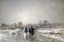 Ludvig Munthe - Returning From Market