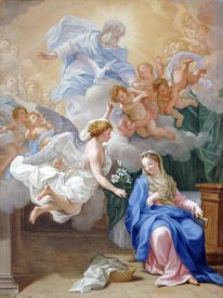 Giovanni Odazzi - The Annunciation