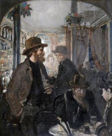 Sir William Orpen - The Nell Gwynne Public House