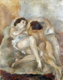 Jules Pascin - Two Nudes