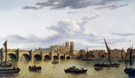 John Paul - A View of Westminster Bridge and Westminster Abbey