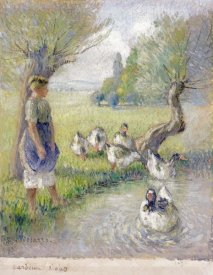 Camille Pissarro - The Goose Girl
