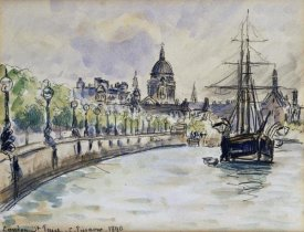 Camille Pissarro - London, St.Paul's Cathedral