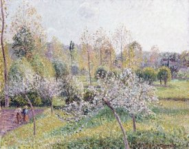 Camille Pissarro - Apple Trees In Blossom, Eragny, 1895