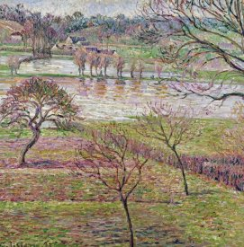 Camille Pissarro - The Flood at Eragny