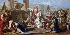 Giovanni Battista Pittoni - The Sacrifice of Polyxena at The Tomb of Achilles