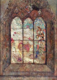 Odilon Redon - The Stained Glass Window