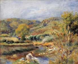 Pierre-Auguste Renoir - The Washerwoman