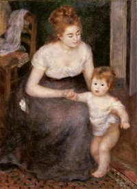 Pierre-Auguste Renoir - The First Step
