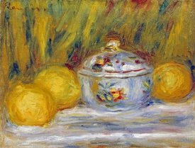 Pierre-Auguste Renoir - Sugar Bowl and Lemons