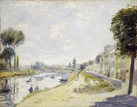 Pierre-Auguste Renoir - The Banks of the Seine