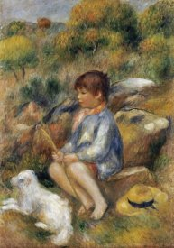 Pierre-Auguste Renoir - Young Boy By a Brook